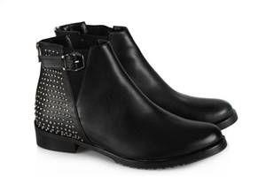 Kadin Bot Siyah Zimbali Model Bot Bayan Ayakkabi Ayakkabilar
