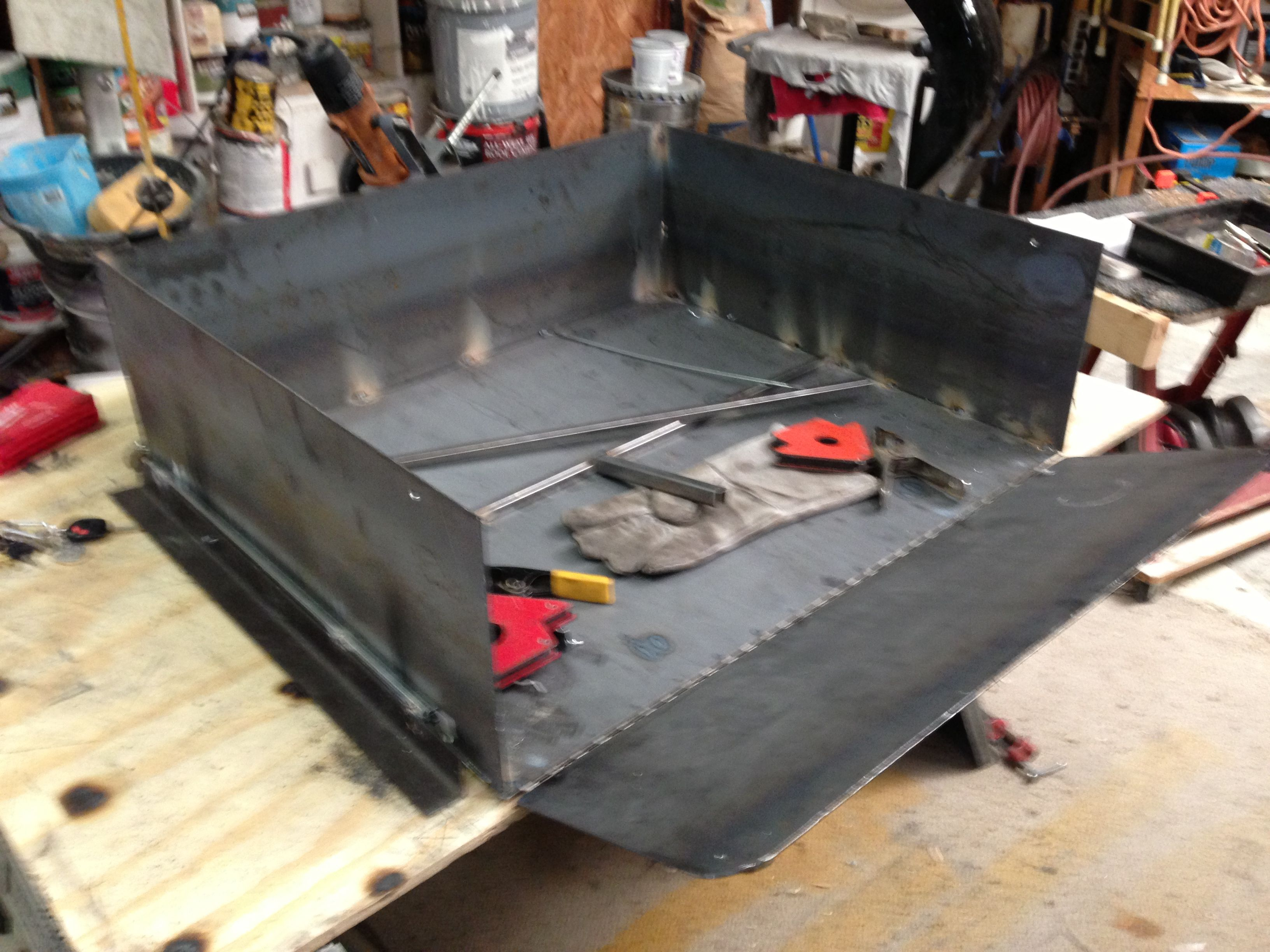 """Build if rear slide out off road """"kitchen"""" drawer"""