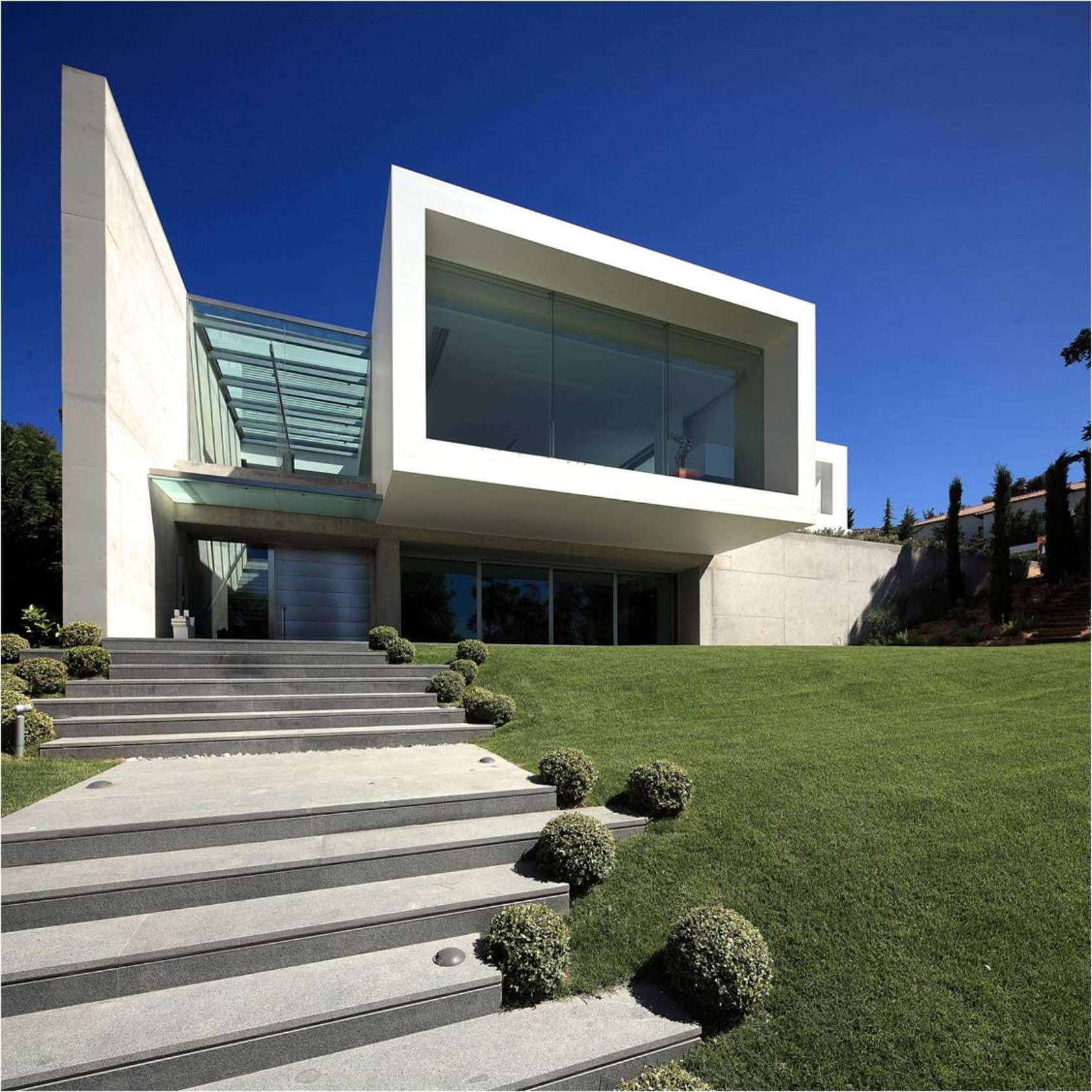 Athens Greece Modern House Floor Plans Modern House