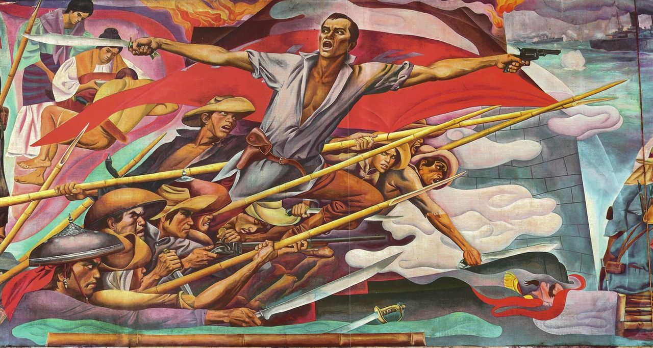 carlos v francisco detail from filipino struggles