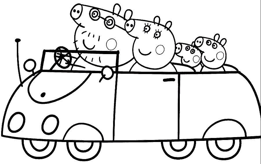 Resultado De Imagen Para Dibujos Para Colorear Peppa Pig Para