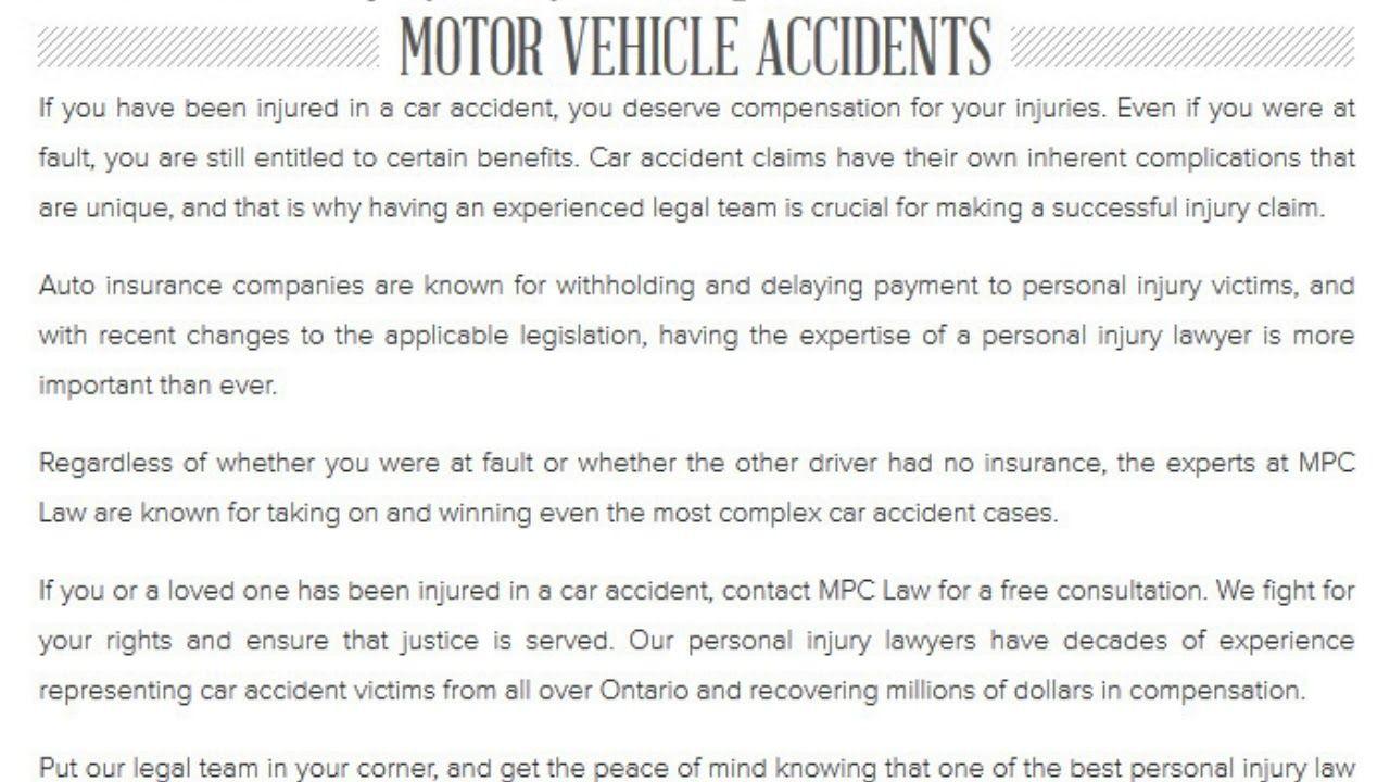Mpc Personal Injury Lawyer 207 5 Brisdale Dr Brampton On L7a 0s9