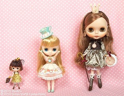 Petite Middie and Neo Blythe Sizes