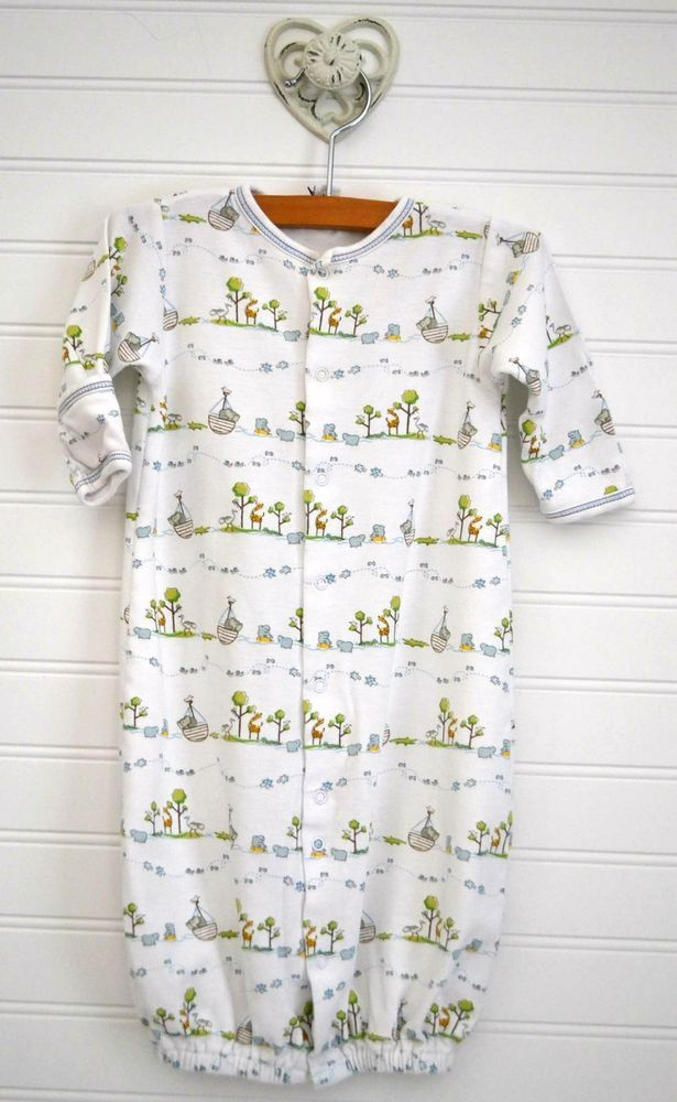 Baby Boy KISSY KISSY SM 0-3m Convertible Gown Romper One Piece ...