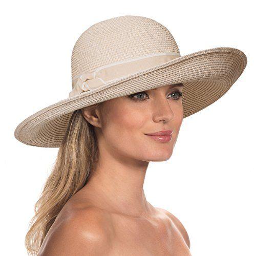 Eric Javits Luxury Fashion Designer Womens Headwear Hat  Kristi  Cream ** For more information, visit image link.