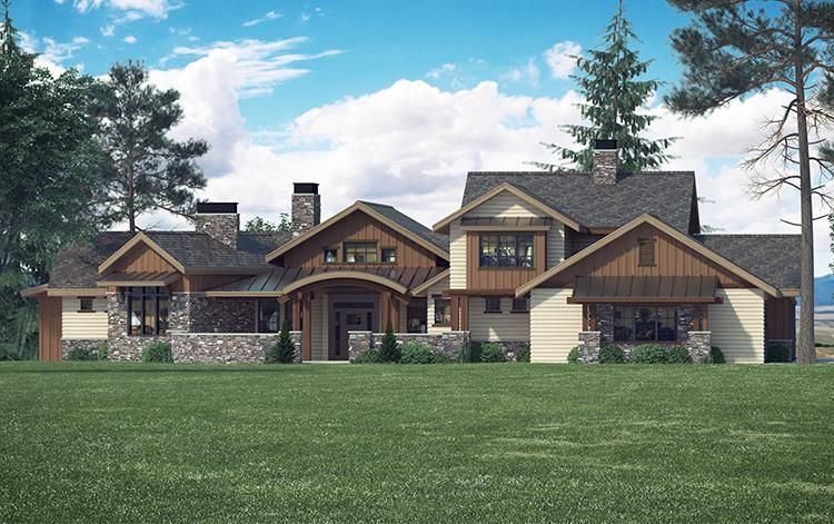 House Plan 5631 00062 Mountain Plan 3 988 Square Feet 4 Bedrooms 5 Bathrooms Craftsman House Craftsman House Plan Architectural Design House Plans