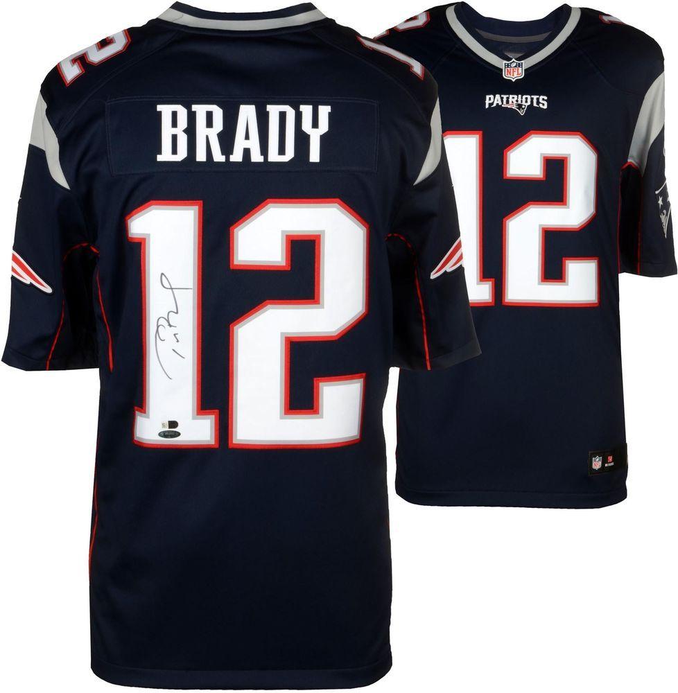Tom Brady Patriots Signed Navy Pro Line Jersey Fanatics Authentic Sportsmemorabilia Autograph Football Jersey Patriots Tom Brady Patriots Patriots Sign