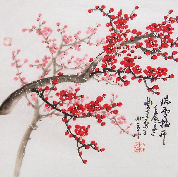 Pin By Bob Herdlein On Bob Art Blossom Tree Tattoo Cherry Blossom Painting Cherry Blossom Tree Tattoo