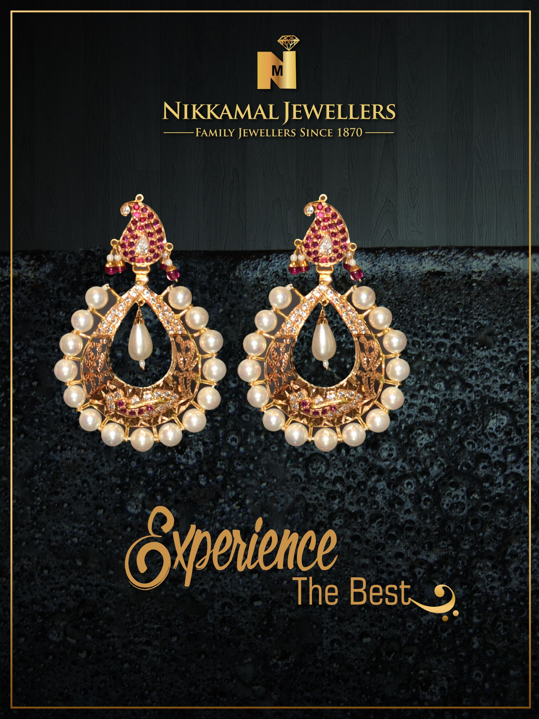 Experience the Best Earring Designs at Nikkamal Jewellers!! Buy ...