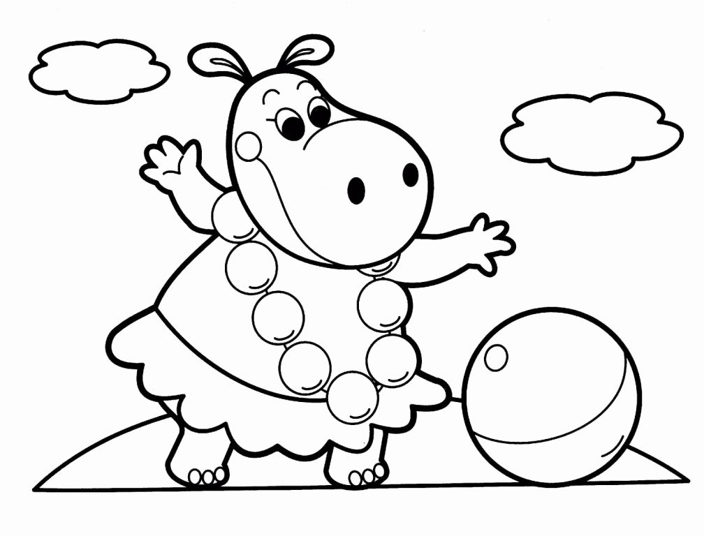 Animal Coloring Pictures for Kids Inspirational Easy