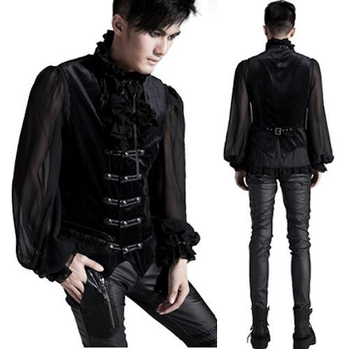 Gothic Victorian Clothing For Men