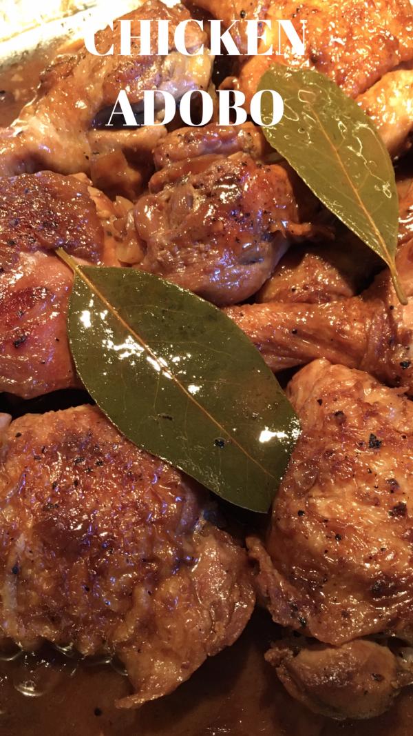 Famous Filipino Chicken Adobo Recipe Adobo Chicken Adobo Main Dish Recipes