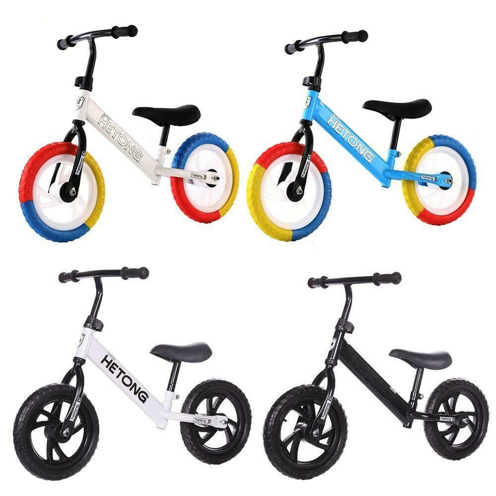 Sponsored Ebay 12 Balance Bike Kids No Pedal Bike W Adjustable