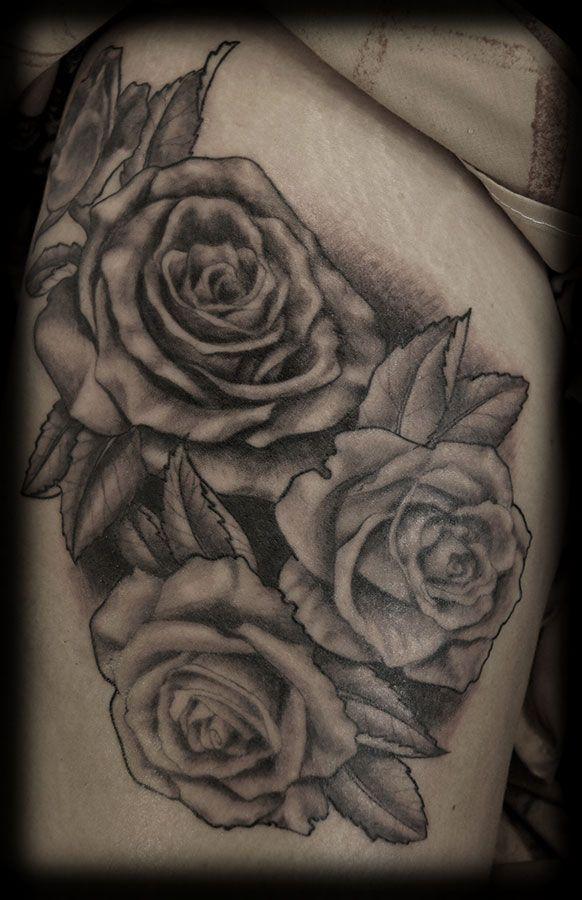 Gothic Roses Tattoo Idea White Rose Tattoos Rose Tattoos Black And White Rose Tattoo