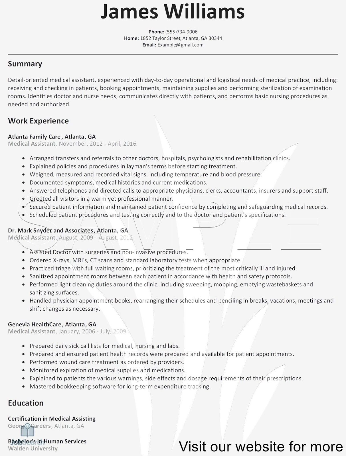 Sample Registered Nurse Resume Template 2020 in 2020 Job