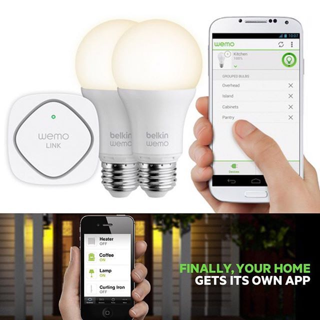 Control Your House Lights From Anywhere In The World With Belkin