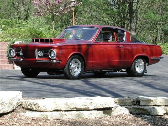 The Early A-Body Forum: 1965 Barracuda race car on MoPower