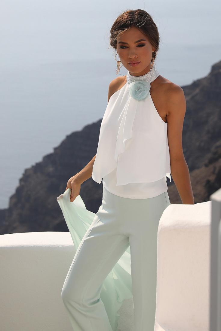 Wonderlijk linearaffaelli #collezioni #2019 #suite #jurk #moderna AJ-96