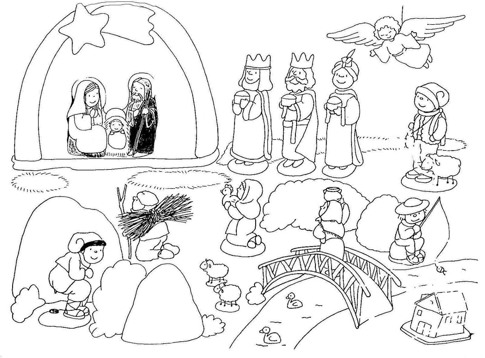 Imágenes De Navidad Para Colorear E Imprimir Wallpaper Gratis 5 HD ...