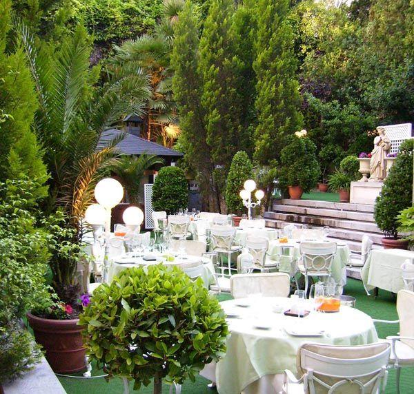 Los mejores hoteles para bodas de ensue o boda hoteles for Jardines 15 madrid