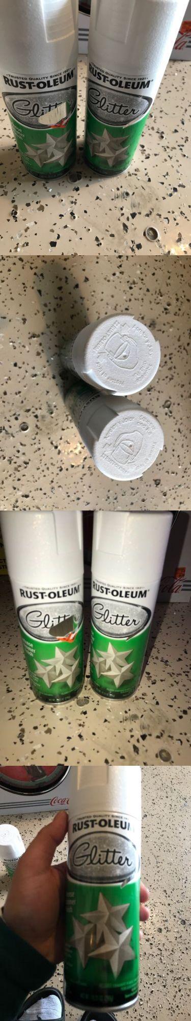 Spray Paint 183104: 2 Rust-Oleum Specialty Glitter Spray