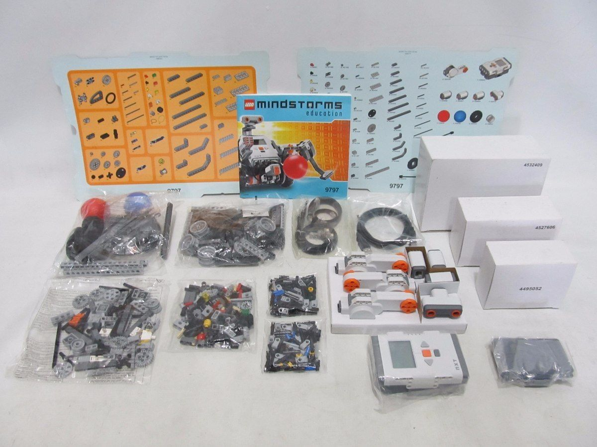LEGO Mindstorms Education Base Set 9797 Nxt | Lego Creations and