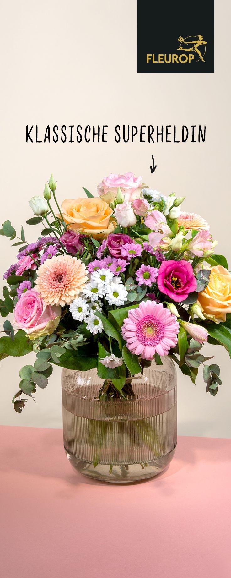 Blumen zum Muttertag verschenken - Strauß Klassische