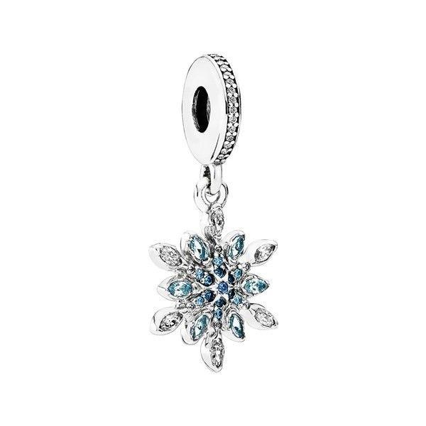 pandora charm diamante