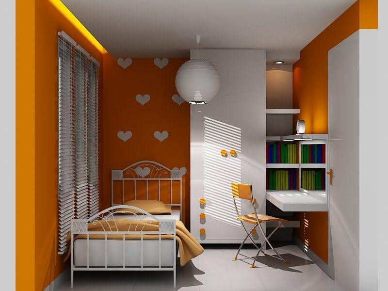 Cara Memilih Warna Cat Kamar Tidur | Simple bedroom, Room ...