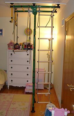 home gym furniture. Home Gym For Your Kids Spider-Wall. Assembling With Furniture Board.