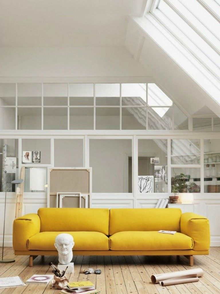 70 exciting yellow sofas to perfect living room color