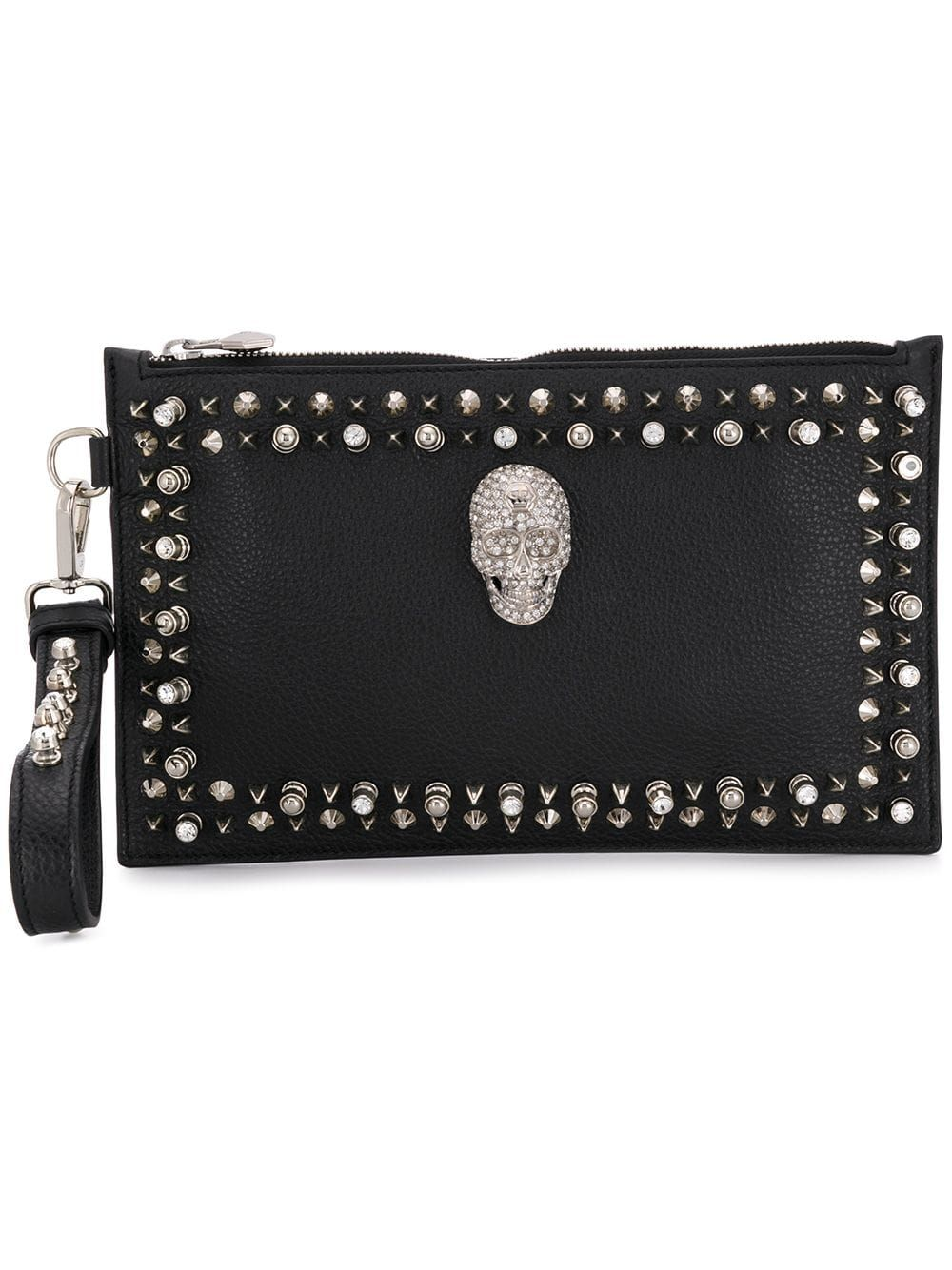 a487857690 Philipp Plein Studs shoulder bag - Black in 2019 | Products | Bags ...