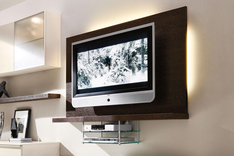 Parete Attrezzata con porta TV 530 - dettaglio porta TV dotato di ...