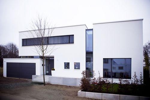 17 best images about huser on pinterest hamburg haus and bauhaus wohnideen design - Moderner Eingangsbereich Aussen