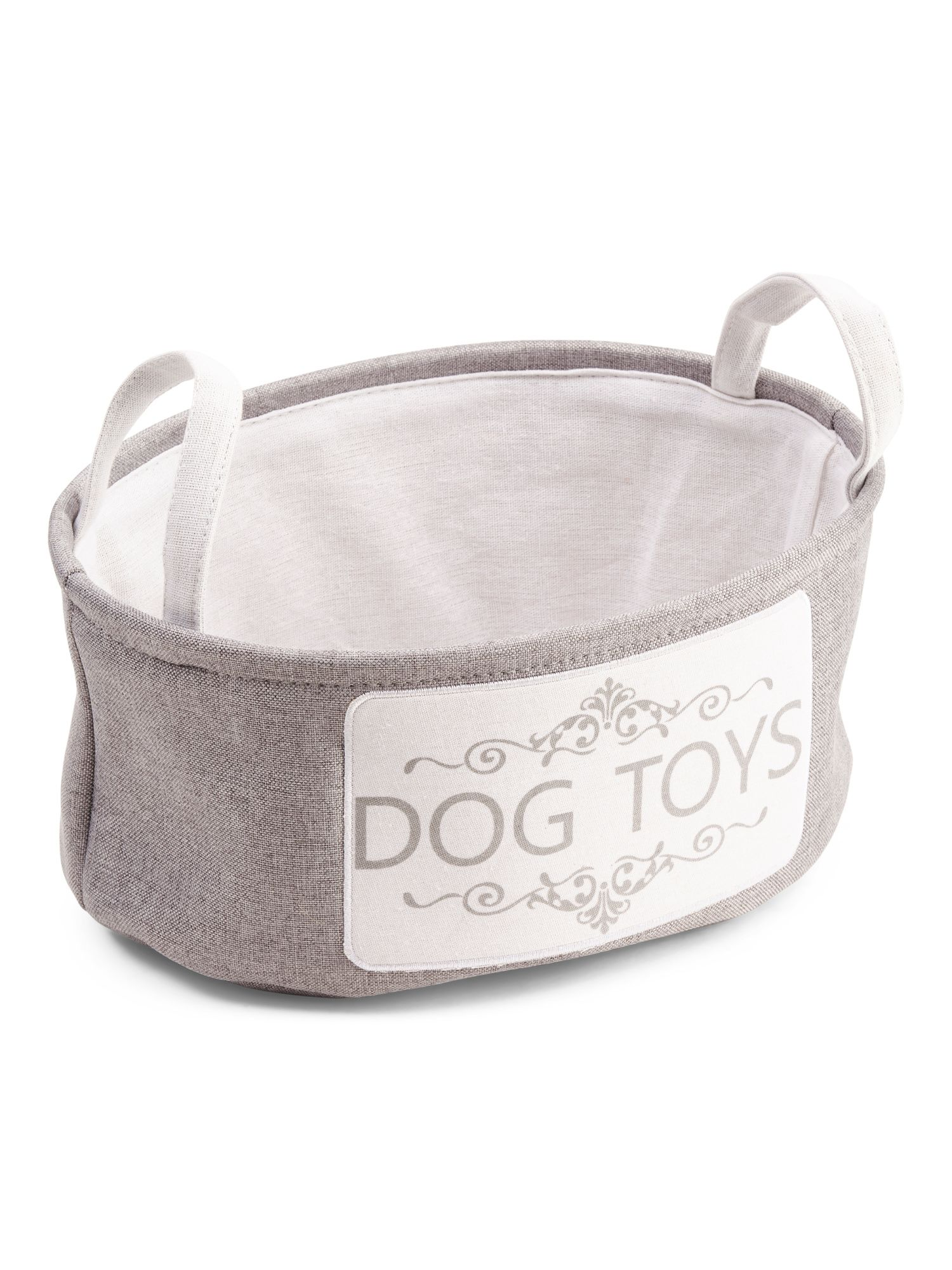 Medium Dog Toy Storage Basket New Arrivals T J Maxx Dog Toy