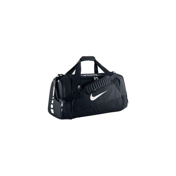 Nike Hoops Large Elite Max Air Team Duffle Bag (3,495 PHP) ❤ liked on