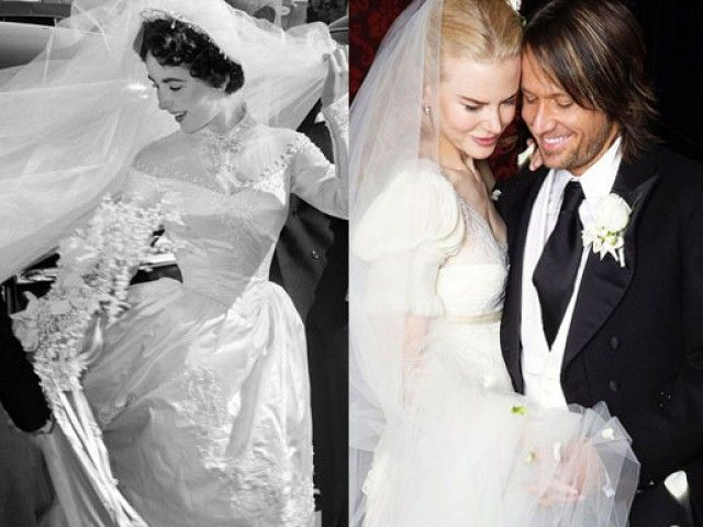 The 50 Most Beautiful Wedding Dresses Of All Time Via Stylelist
