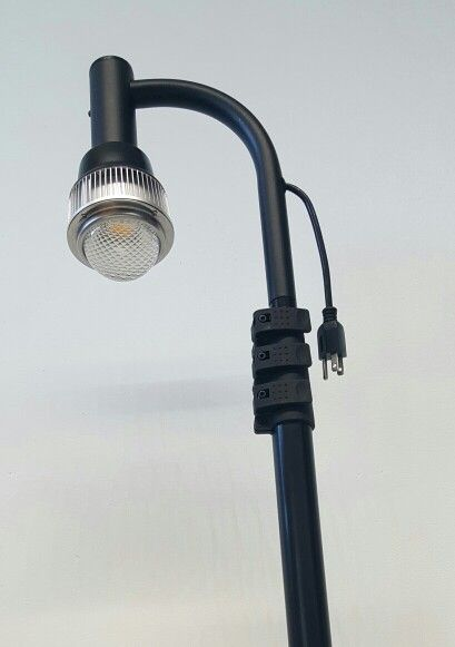 Pop Up Commercial Light Fixture Clamp On To Any Table Display. Visit Us At  Www