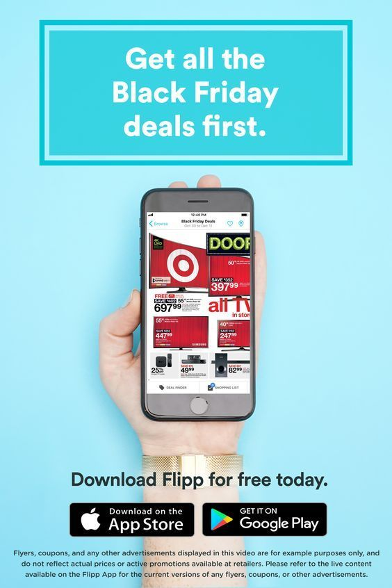 All Of Your Favorite Black Friday Deals In One Place The Flipp App Browsing Has Never Been Easier Clip Coupons C App Create A Shopping List Digital Coupons