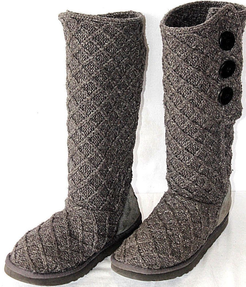 a72a6cdf349 Details about UGG Australia Women's 5819 Cardy Classic Size 6 Gray ...