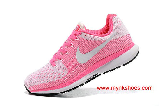 5607af054cf 2017 WMNS Nike Air Zoom Pegasus 34 Pink White Running Shoes