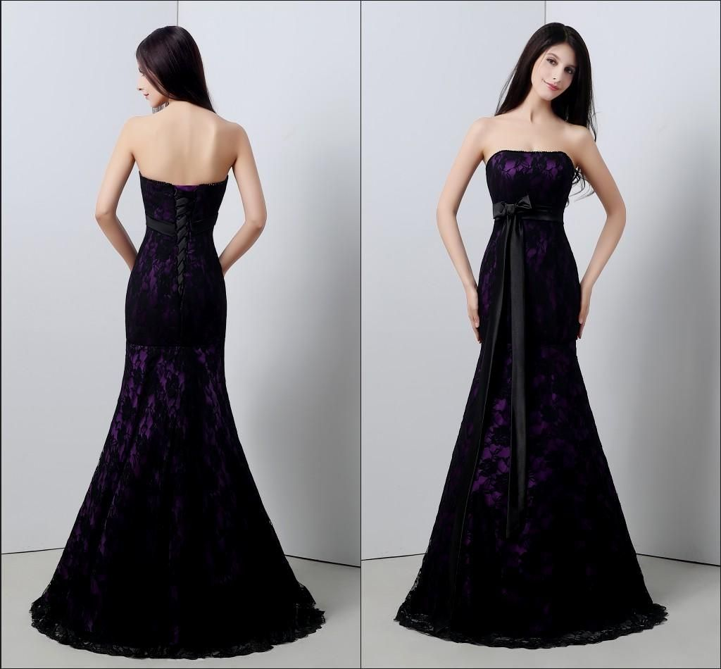 86f0a6621661d black and purple wedding dress Naf Dresses