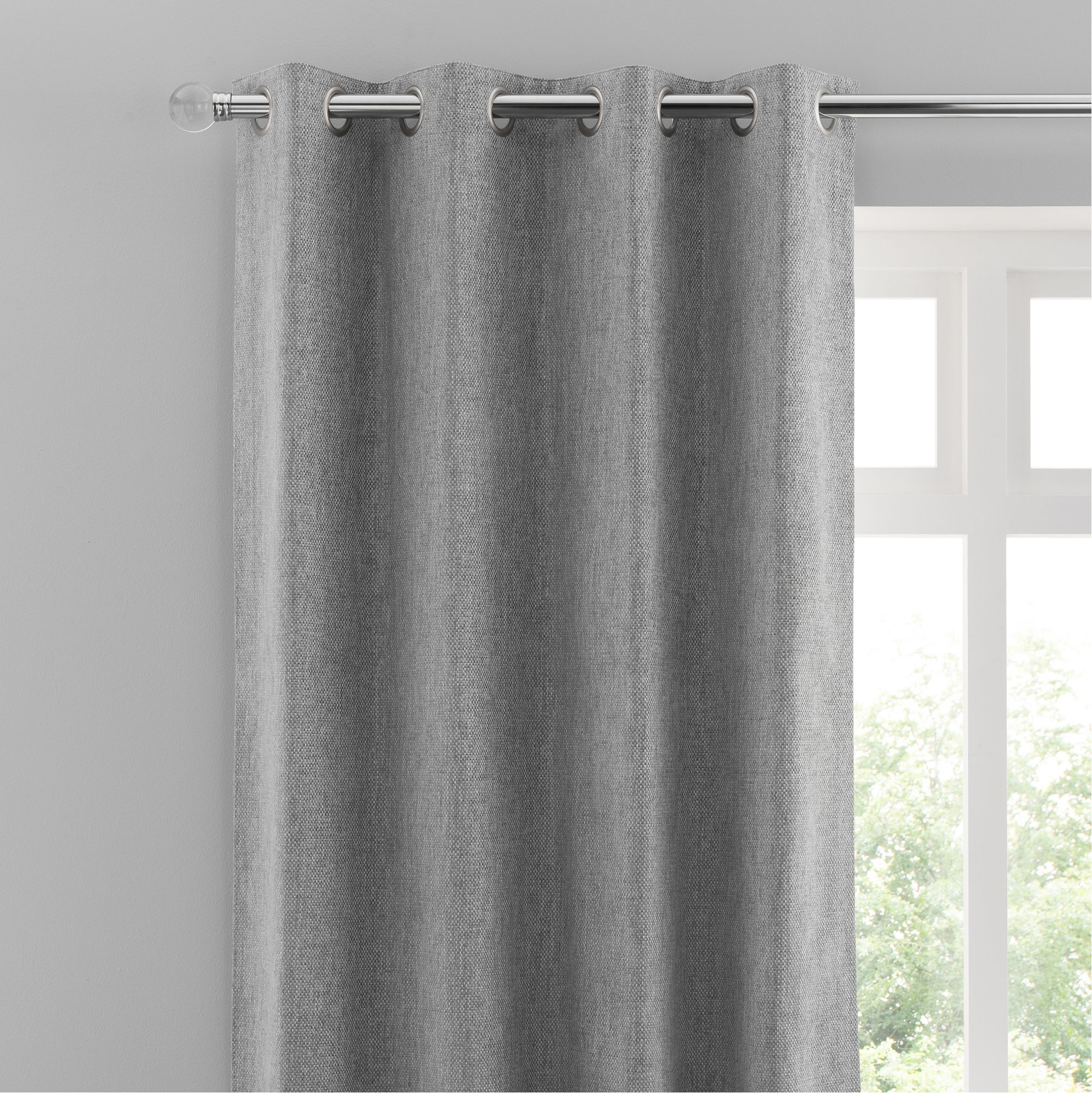 Oxford Dove Grey Chenille Eyelet Curtains Unique Curtains Curtains Grey Eyelet Curtains