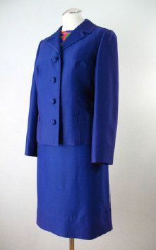 Vintage 1960s 3 piece silk suit made in Hong Kong by BWWSGVintage