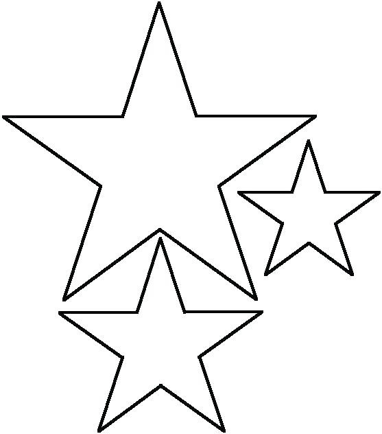 Movil Para Bebe De Estrellas Bebeazul Top Star Template Star Template Printable Stars Craft