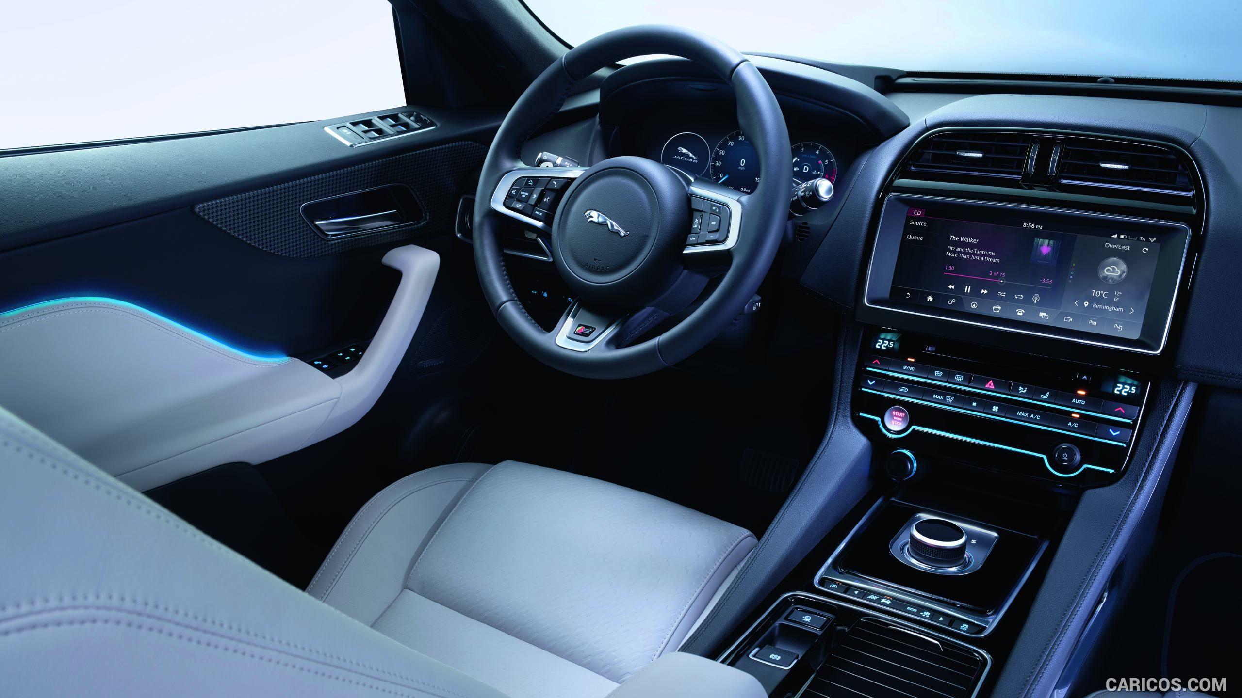 2017 Jaguar F Pace Wallpaper Jaguar Suv Interior Jaguar Suv Jaguar Fpace