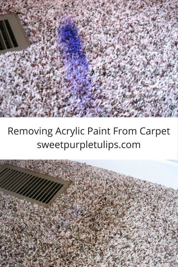 How To Clean Dried Acrylic Paint Out Of Carpet Lets See