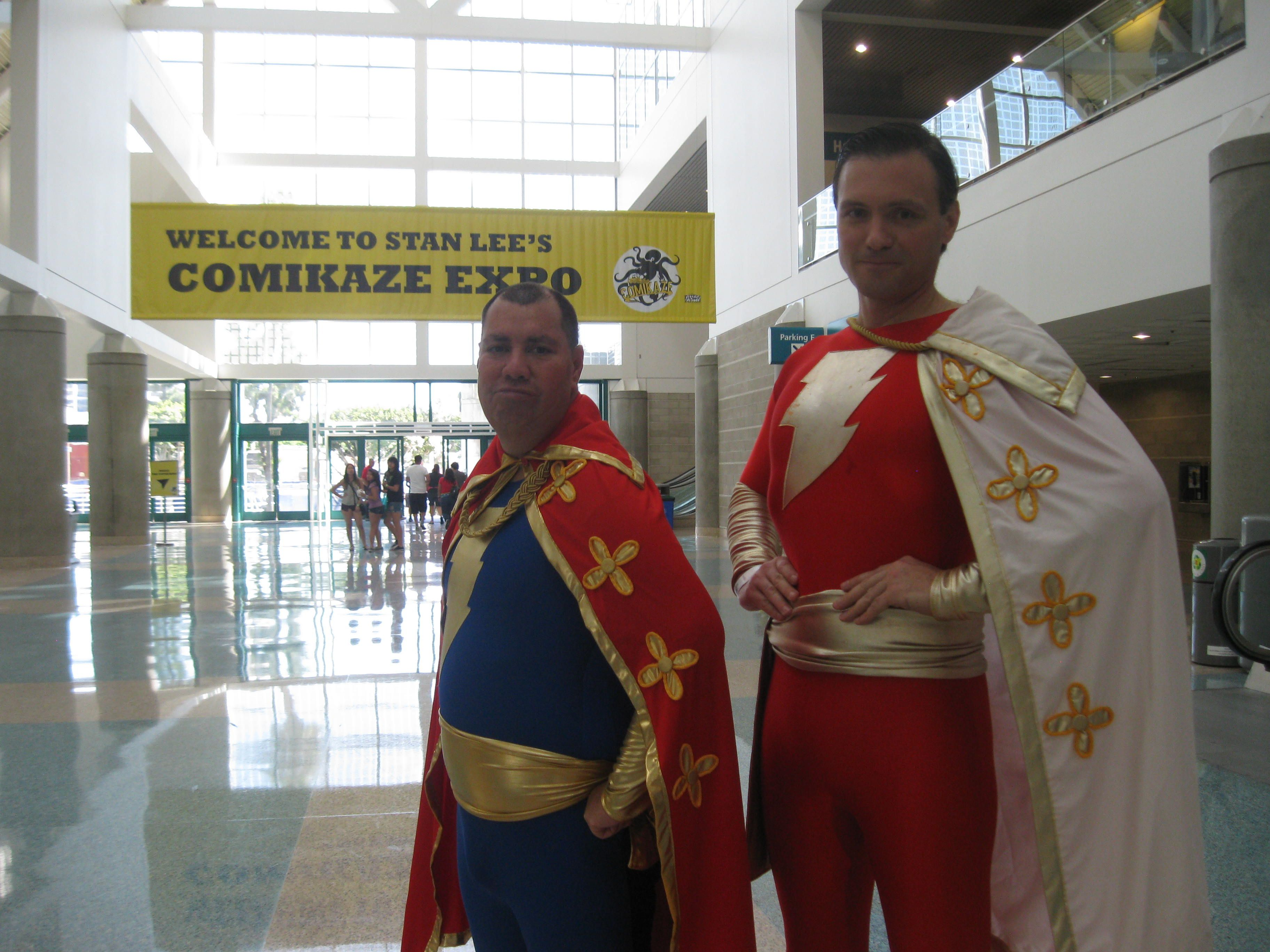 Captain Marvel and Captain Marvel jr. cosplay
