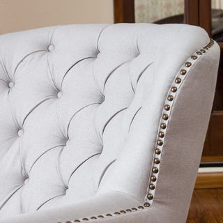 Amazing Christopher Knight Home Tafton Tufted Fabric Club Chair   Overstock.com  Shopping   Great Deals