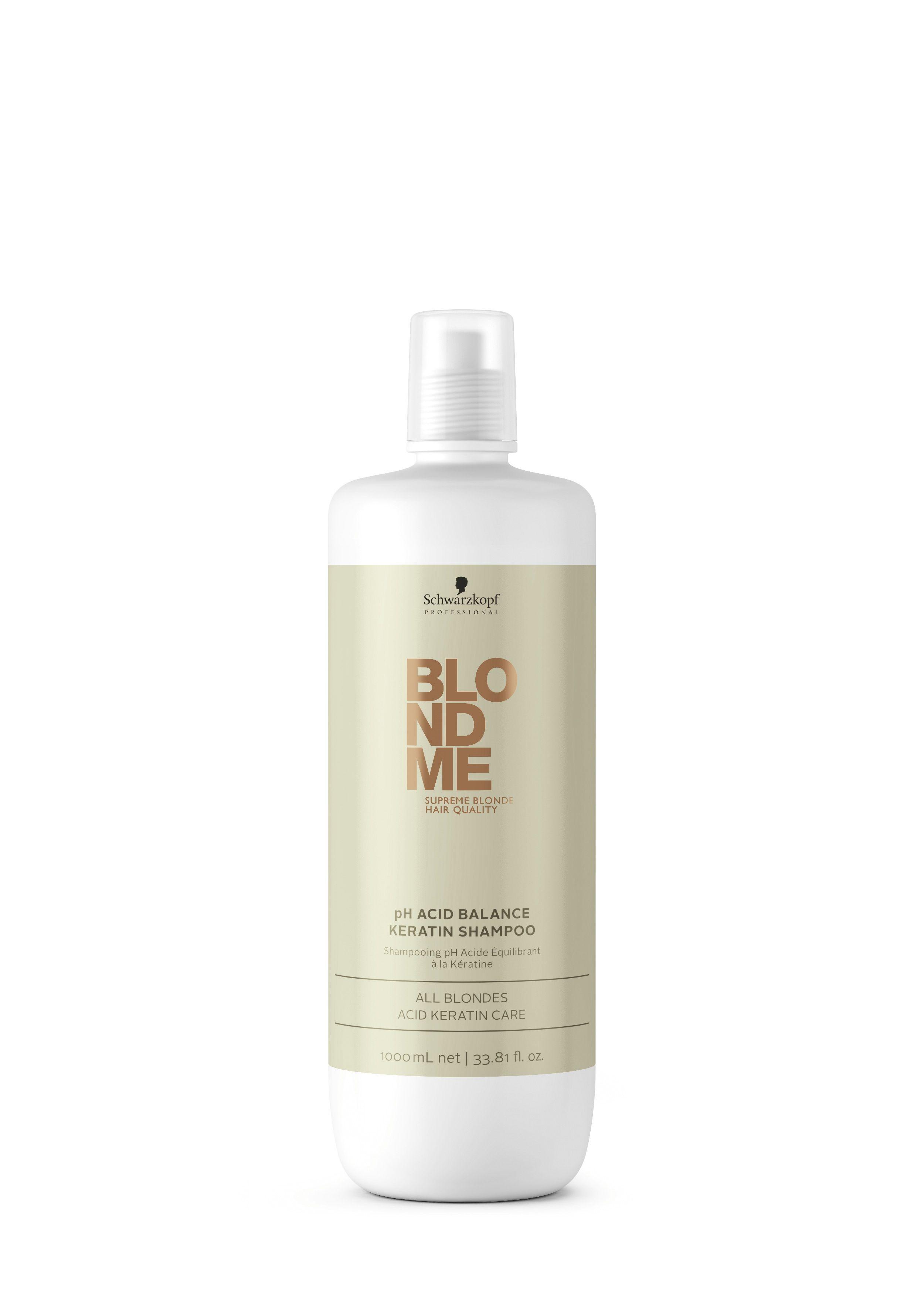 Schwarzkopf Professional Blond Me pH Acid Balance Keratin Shampoo